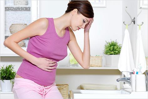 месячные при беременности фото