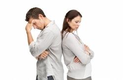 депрессия после развода фото