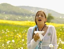 сезонная аллергия фото