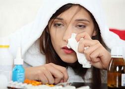 грипп у взрослых фото